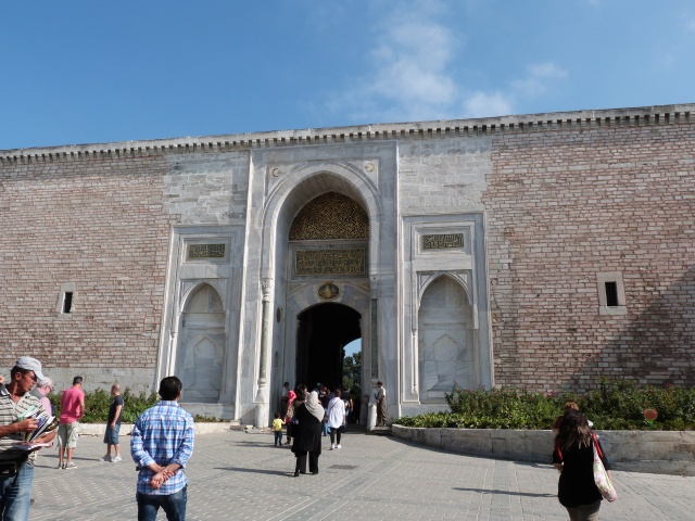 Gates into the gardens of the Topkapi Palace