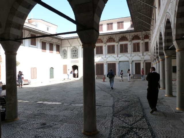 Inside the harem