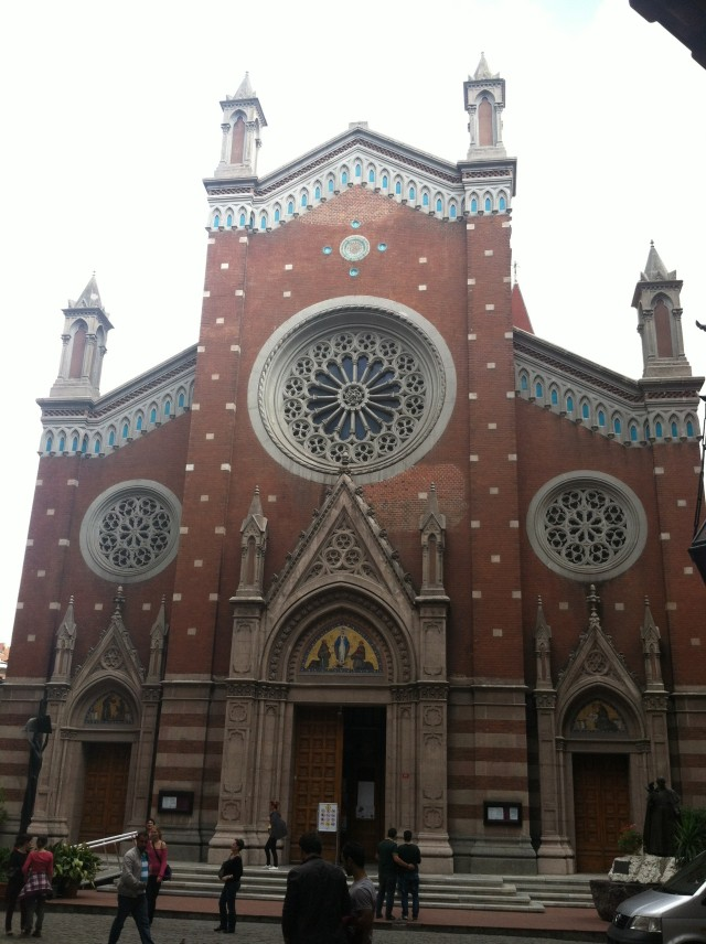 Church of St. Anthony of Padua, Istanbul just off Istiklal Street