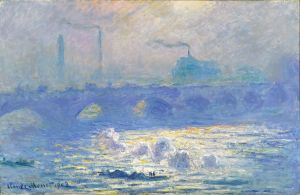 Denver Art Museum_Claude_Monet_Waterloo_Bridge image