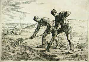 Denver Art Museum_Jean-François Millet , The Diggers image